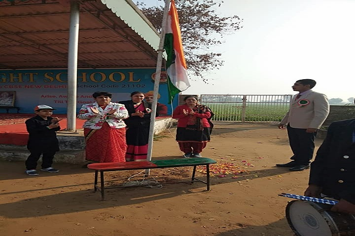 Divine Light Senior Secondary School-Republic Day