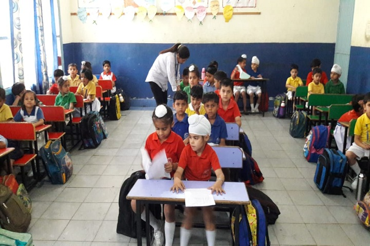 Divine Public School-Classroom