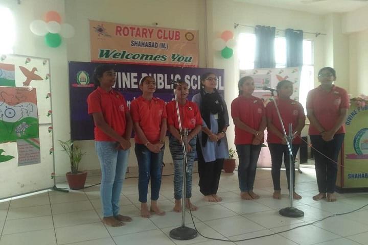 Divine Public School-Group Song