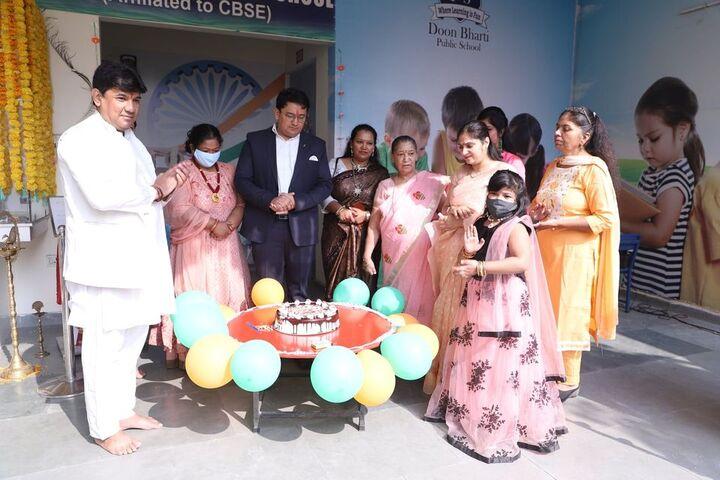 Doon Bharti Public Senior Secondary School-Birth Day Celebrations