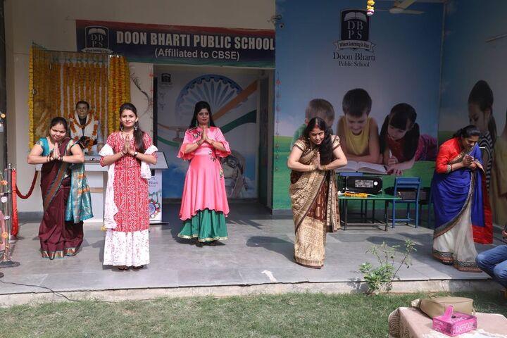 Doon Bharti Public Senior Secondary School-Teachers Day
