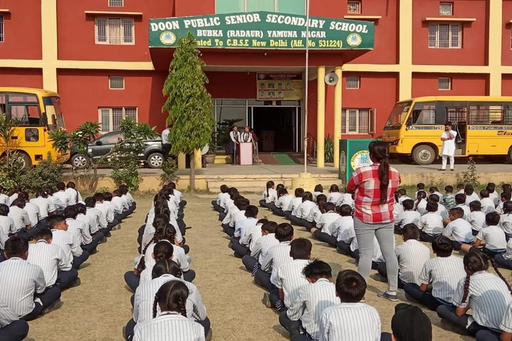 Doon Public Senior Secondary School-Special Assembly