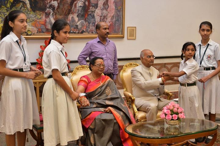 Doon public school-Meeting With President Of India