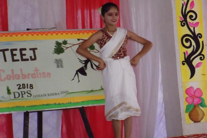 Delhi public school-Teej Festival