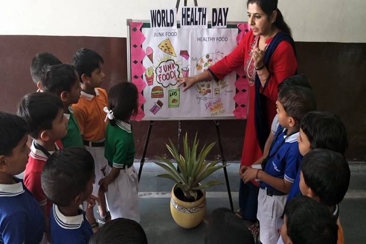 Delhi Public School-World Health Day