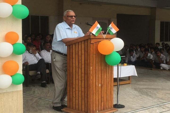 Dr M K K Arya Model School-Independence Day