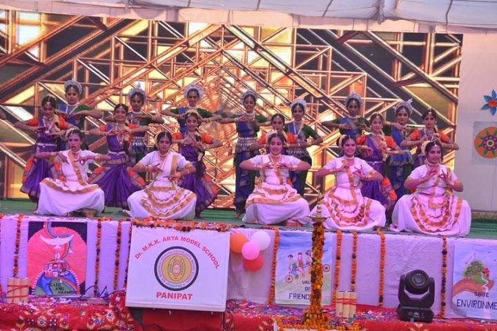 Dr M K K Arya Model School-Annual Meet Dance Performance