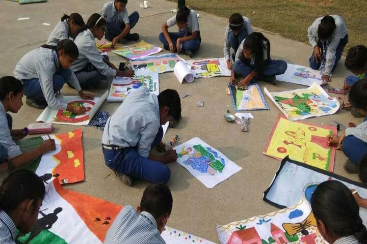 Dujana Public School-Drawing Competition