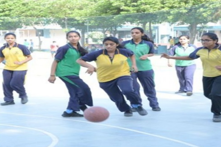 Eicher School-Basket Ball Court
