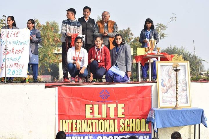 Elite International School-Annual sports meet