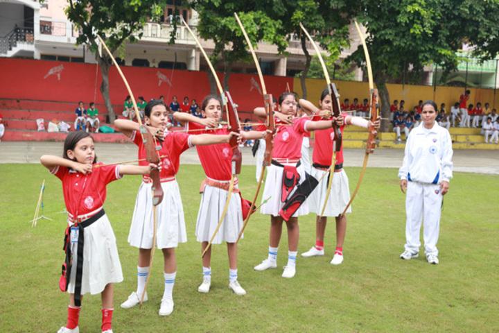 Faridabad Model School-Archery