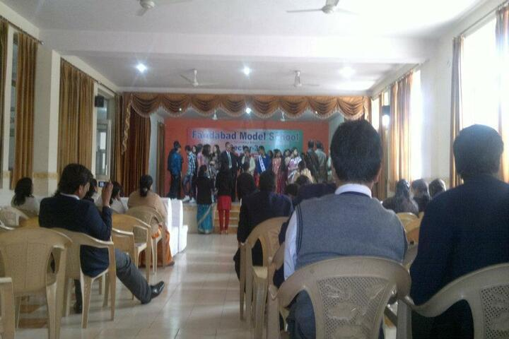 Faridabad Model School-Auditorium