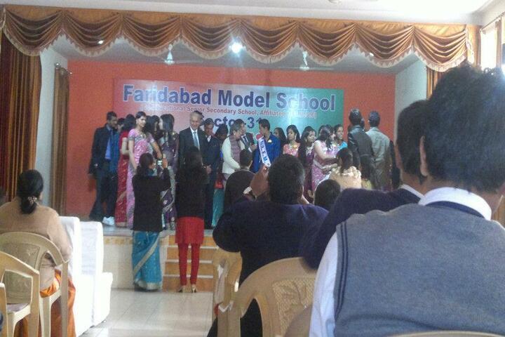 Faridabad Model School-Farewell