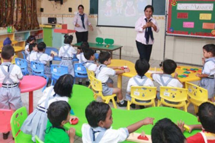 Faridabad Model School-Kindergarten Classroom