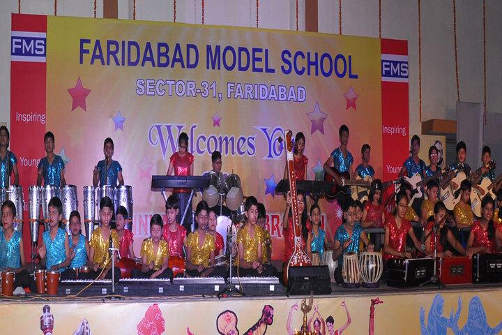 Faridabad Model School-Music