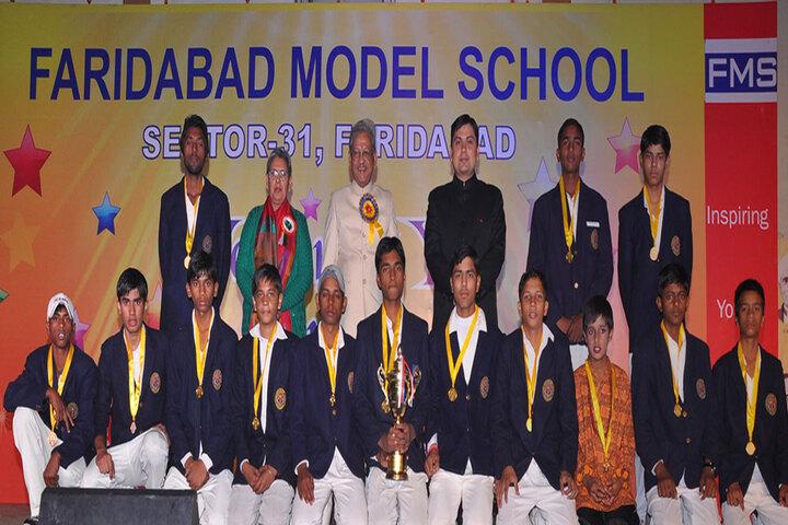 Faridabad Model School-Prize Distribution