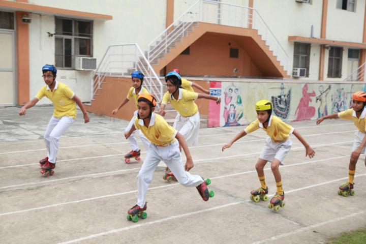 Faridabad Model School-Roller Skating