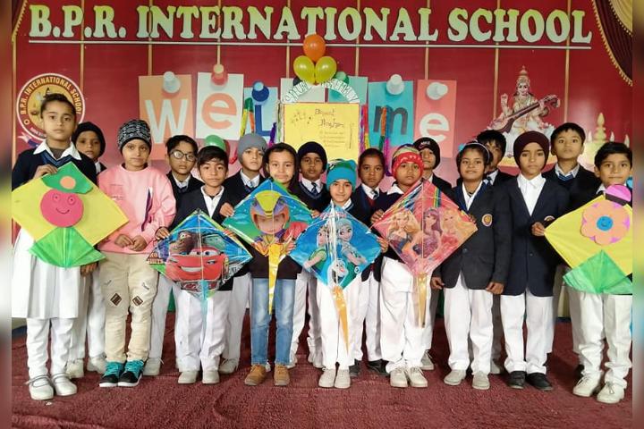 B.P.R. International School - Kite Activity