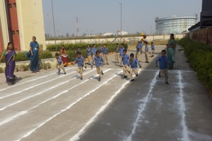 G N World School-Sports Day