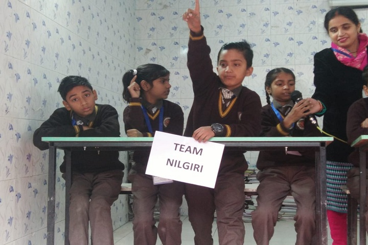 G B L Convent School-Inter House GK Quiz competition