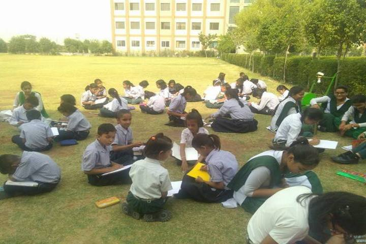G A V Public School-Drawing Competition