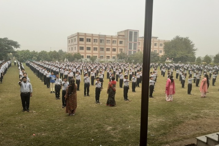 G A V Public School-Morning Assembly