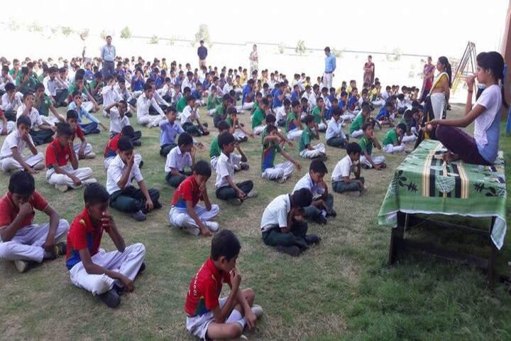 G A V Public School-Yoga Day