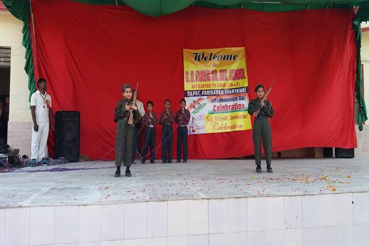 G B Public Senior Secondary School-Independence Day