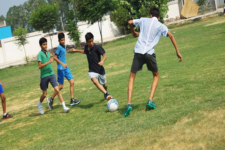 GD Goenka Public School-Sports football