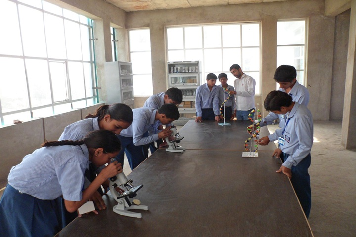 GR International School Kanina-Laboratory biology