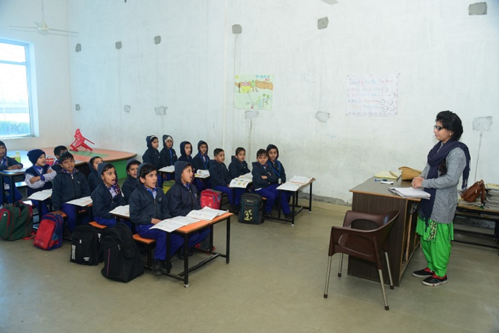 Galaxy International School-Classroom