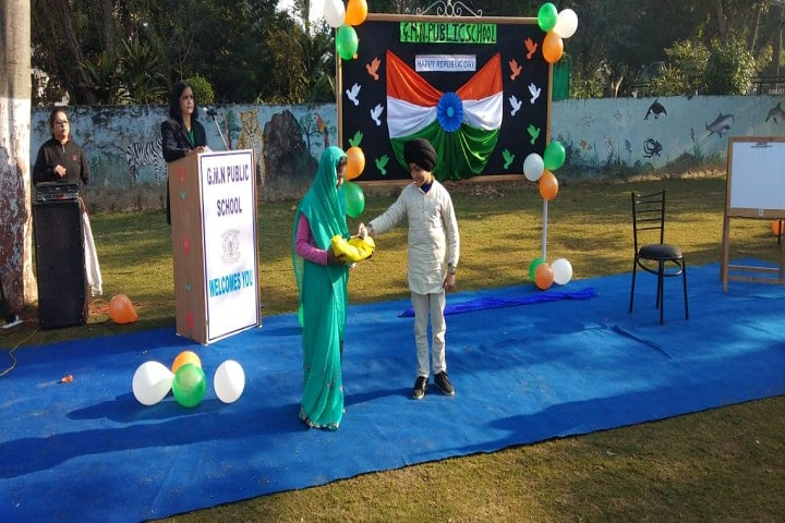 Gandhi Memorial National Public School-Republic Day