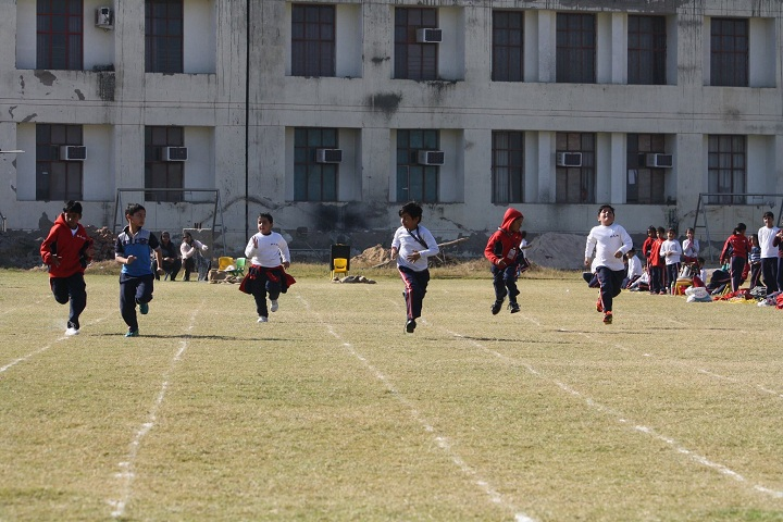 Ganeshi Lal Hindu Public School-Sports running