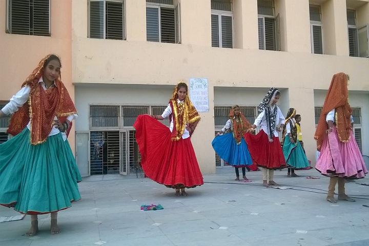 Ganga International School-Dance Performance