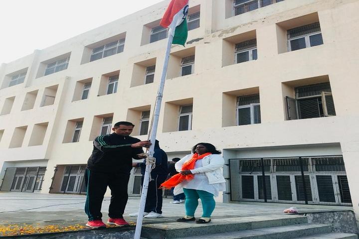 Ganga International School-Flag Hosting