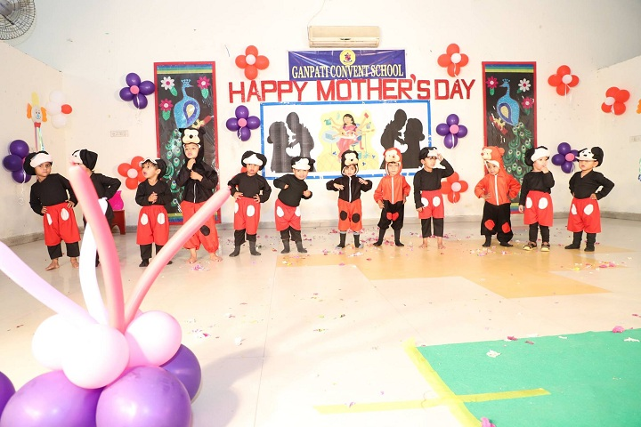 Ganpati Convent School-Events mothers day