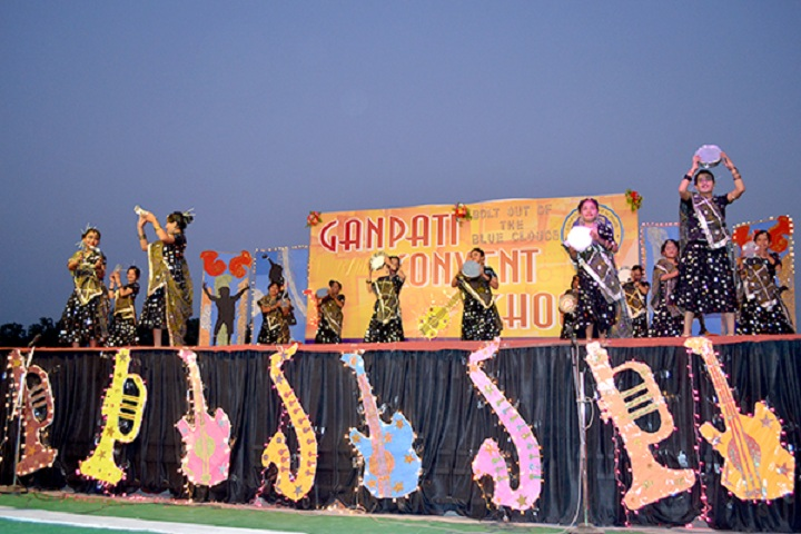 Ganpati Convent School-Events programme