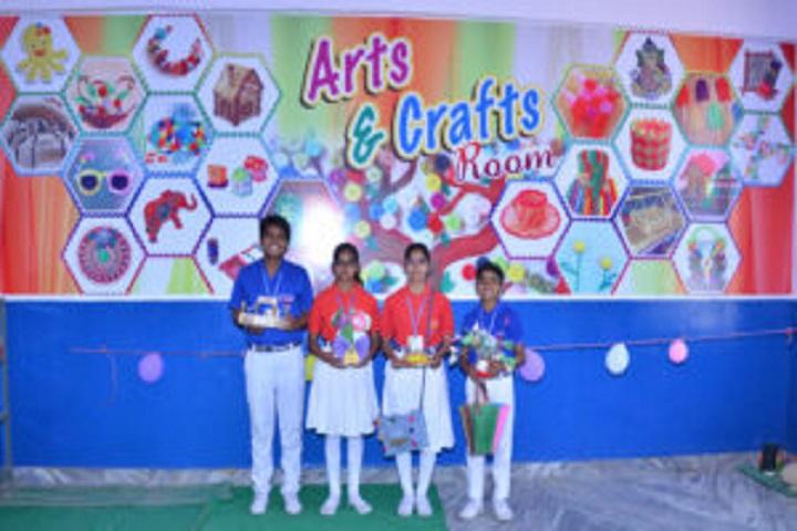 Gayatri Public School-Arts And Crafts