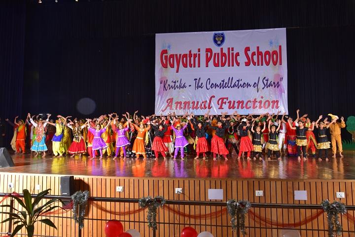 Gayatri Public School-Group Dance