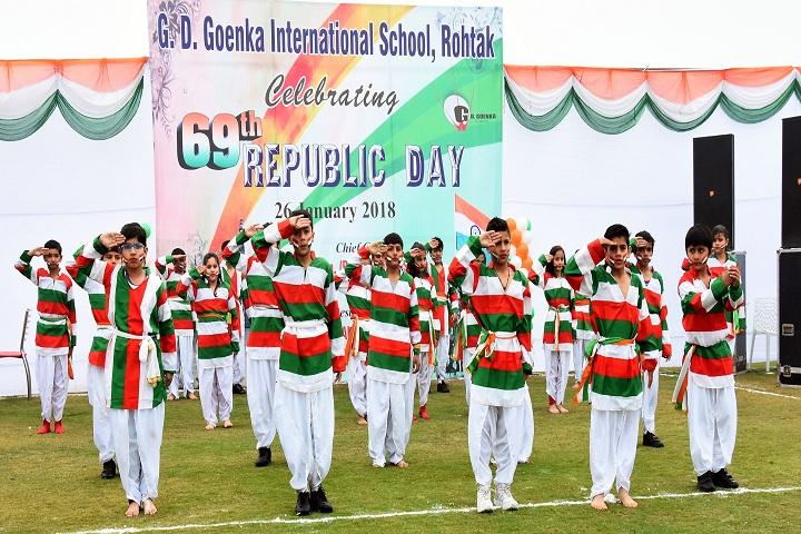 Gd Goenka International School-Independance Day