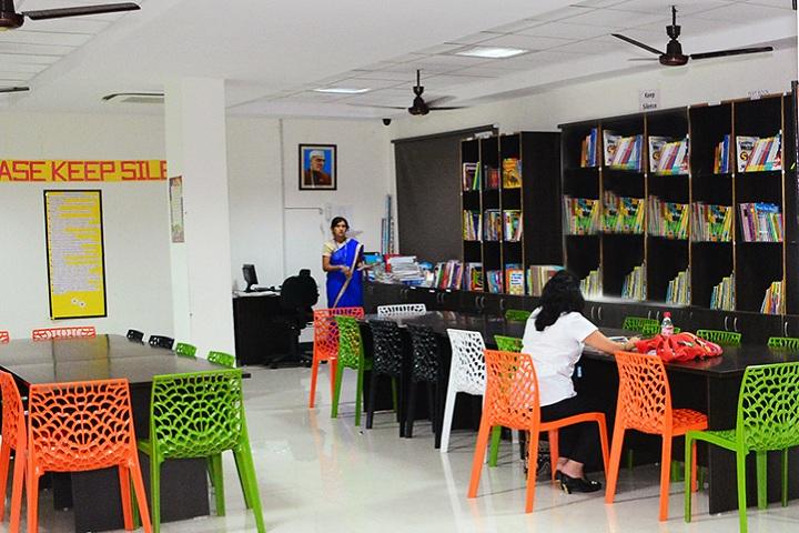 Gd Goenka International School-Library