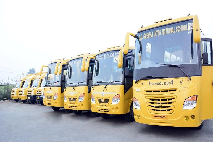 Gd Goenka International School-Transport