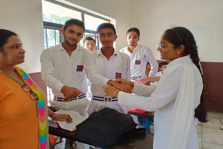 Geeta Senior Secondary School-Raksha Bandhan