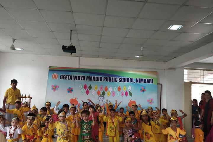 Geeta Vidya Mandir Public School-Programme