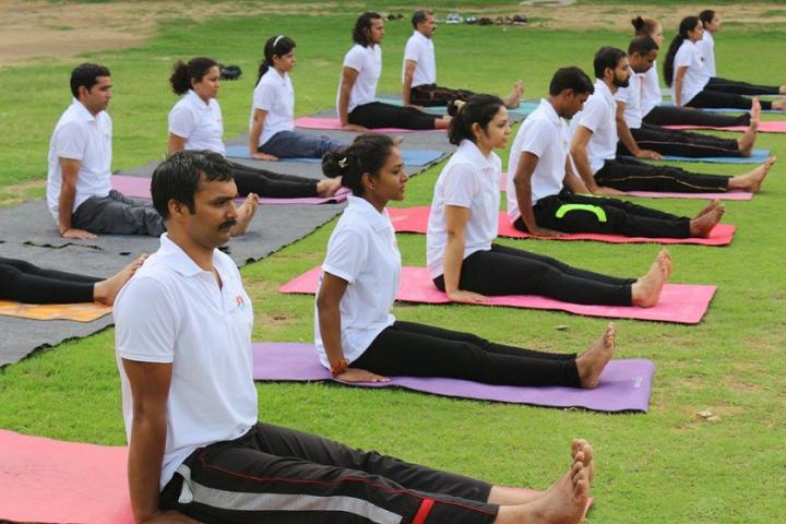 Gems International School-Yoga Day