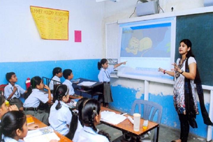 Gita Bal Niketan Senior Secondary School-Classroom