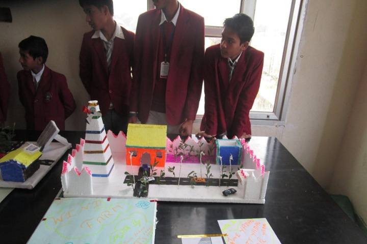 Global Public School-Science Exhibition