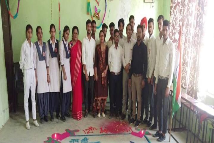 Glorious Public School-Rangoli Competition