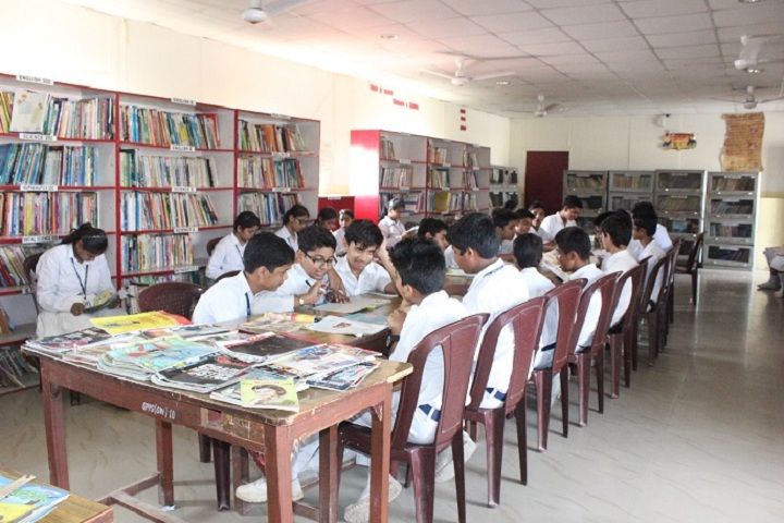 Golaya Progressive Public School-Library with reading room