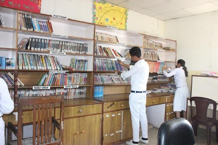 Golaya Progressive Public School-Library